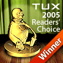 TUX 2005 Readers' Choice Award
